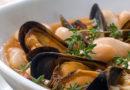 minestra cozze e fagioli