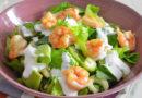 insalata gamberetti avocado